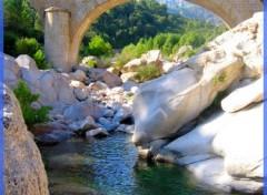 Fonds d'écran Voyages : Europe rivière de sainte lucie de porto vecchio