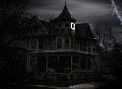 Wallpapers Digital Art haunted house