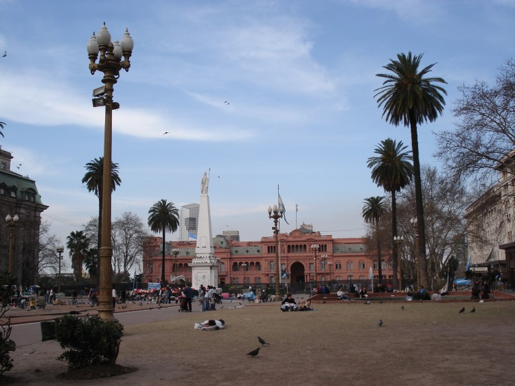 Wallpapers Trips : South America Argentina Plaza de Mayo