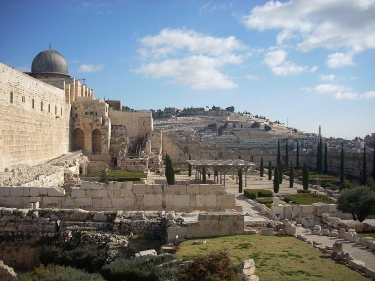 Fonds d'écran Voyages : Asie Israël La cité de David