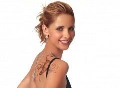 Wallpapers Celebrities Women sarah michelle gellar tatoo 2