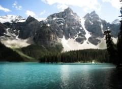 Fonds d'écran Voyages : Amérique du nord Lake Moraine