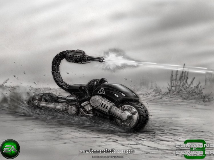 Fonds d'écran Jeux Vidéo Command & Conquer 3 : les Guerres du Tiberium Wallpaper N°211814