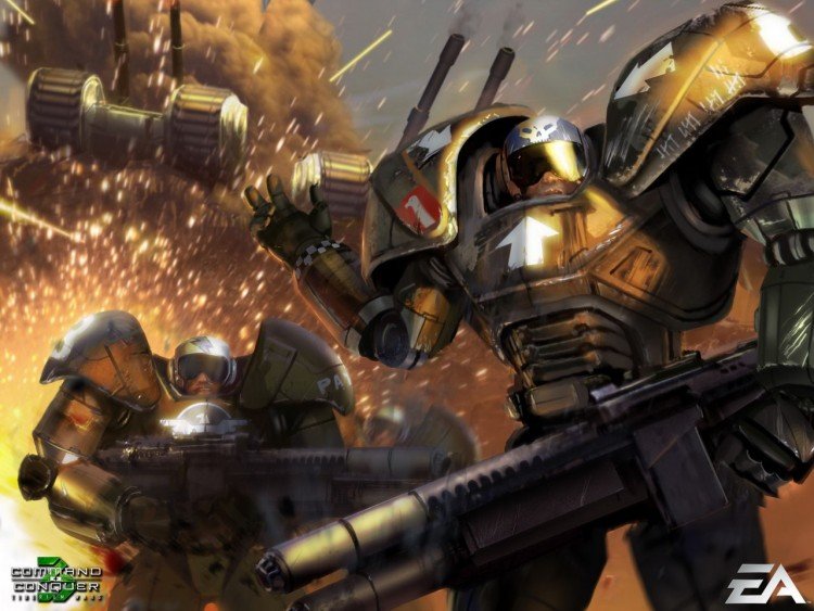 Fonds d'écran Jeux Vidéo Command & Conquer 3 : les Guerres du Tiberium Wallpaper N°211817