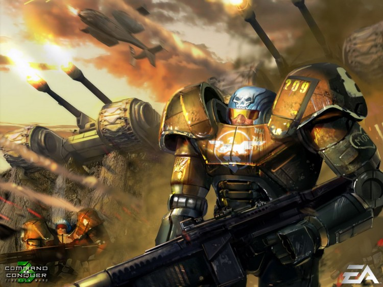 Fonds d'écran Jeux Vidéo Command & Conquer 3 : les Guerres du Tiberium Wallpaper N°211818