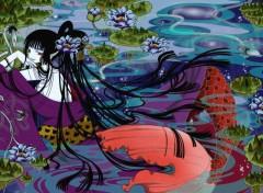 Fonds d'écran Manga yuuko en sirène