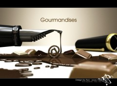 Wallpapers Digital Art Writing Gourmandises