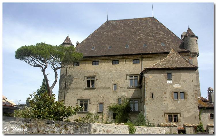 Fonds d'écran Constructions et architecture Châteaux - Palais Chateau d'Yvoire