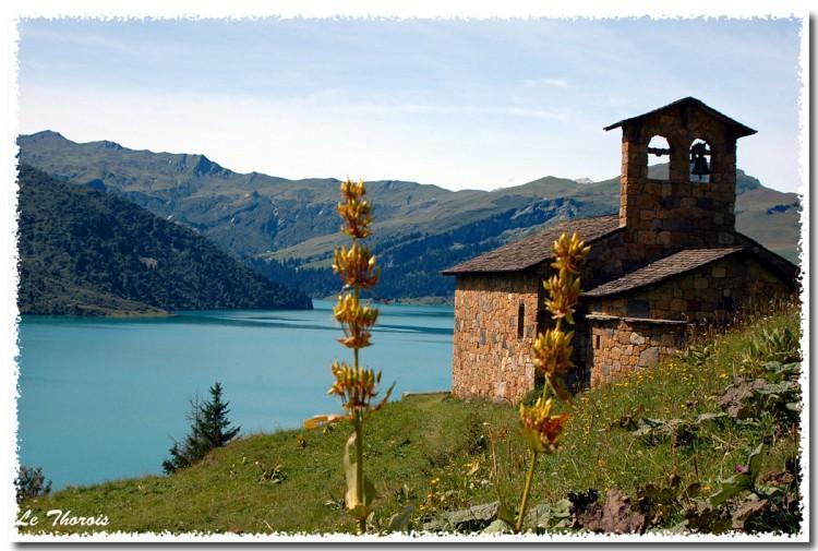Wallpapers Trips : Europ France > Rhône-Alpes Le cornet de Roselend