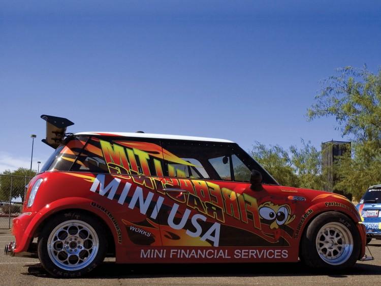 Fonds d'écran Voitures Mini Mini Cooper S Fireball Tim Racing Dragster