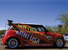 Fonds d'écran Voitures Mini Cooper S Fireball Tim Racing Dragster