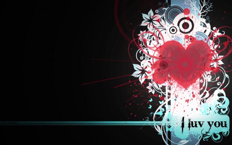 Wallpapers Digital Art Love - Friendship Wall_4_ticoeur_by_Yipno