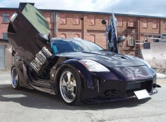 Wallpapers Cars Nissan 350Z named Mr_Z Tuning by Lookas Koos