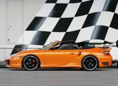 Fonds d'écran Voitures Porsche 911 Turbo Cabriolet TechArt