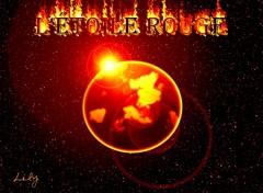 Fonds d'écran Art - Numérique L'étoile rouge