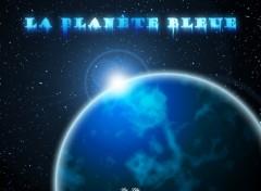 Fonds d'écran Art - Numérique Planète bleue