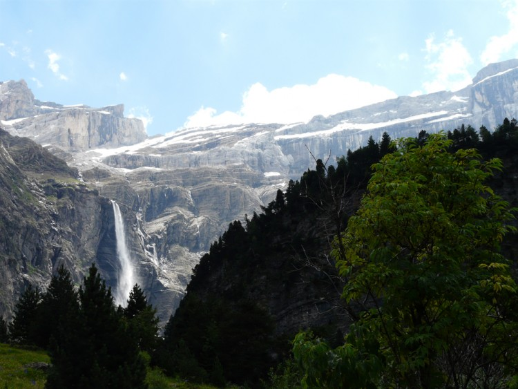 Fonds d'écran Nature Cascades - Chutes Gavarnie