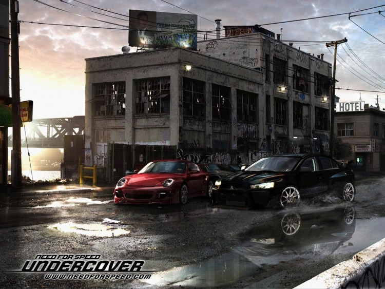Fonds d'écran Jeux Vidéo Need For Speed Undercover Wallpaper N°215096