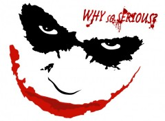 Wallpapers Movies joker face