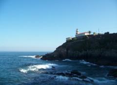 Fonds d'écran Voyages : Europe Phare de Cudillero (Asturias).