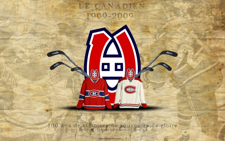 Wallpapers Sports - Leisures Hockey Le Canadien Spécial 100 ans