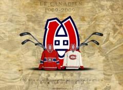 Wallpapers Sports - Leisures Le Canadien Spécial 100 ans