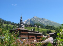 Wallpapers Trips : Europ Panorama station La Clusaz