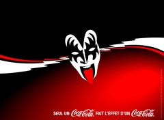 Wallpapers Brands - Advertising coca cola KISS