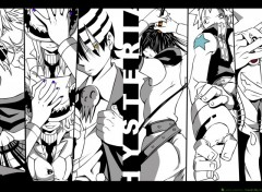 Fonds d'écran Manga manieurs et armes