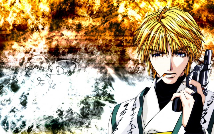Fonds d'écran Manga Saiyuki Sanzo for yuki