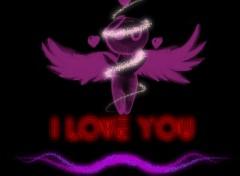 Fonds d'écran Art - Numérique I love You