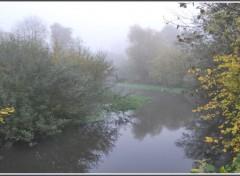 Wallpapers Nature Brumes d'automne en Picardie