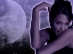 Fonds d'écran Célébrités Femme Angie vampire