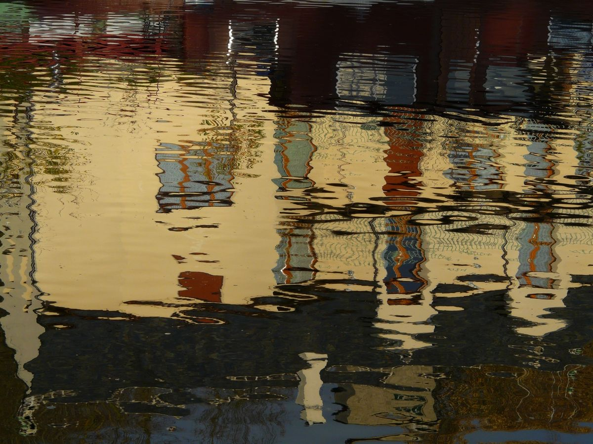 Wallpapers Nature Water - Reflection Reflets sur loing
