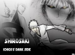 Fonds d'écran Manga Bleach - Shirosaki, Ichigo's Dark Side