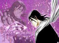 Fonds d'écran Manga Bleach - Kuchiki Byakuya
