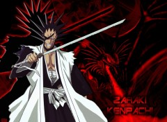 Fonds d'écran Manga Bleach - Zaraki Kenpachi