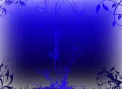 Wallpapers Digital Art Univers bleu