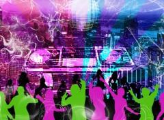 Fonds d'écran Art - Numérique City Club Night Life