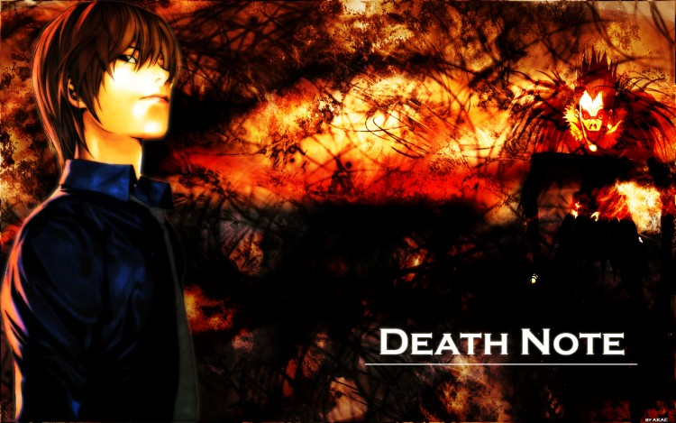 Wallpapers Manga Death Note death note fusion