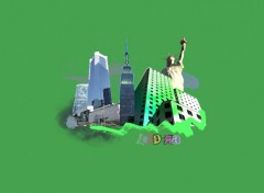 Fonds d'écran Art - Peinture New York City