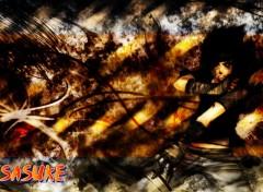 Fonds d'écran Manga Sasuke uchiha