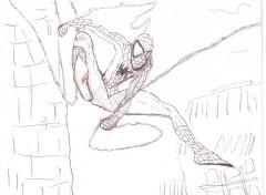 Fonds d'écran Art - Crayon spiderman