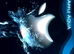Fonds d'écran Informatique Apple AQUA