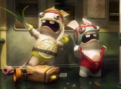 Wallpapers Video Games Rayman Prod' Présente : The Lapins Crétins Show