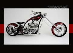 Fonds d'écran Motos Chopper attitude