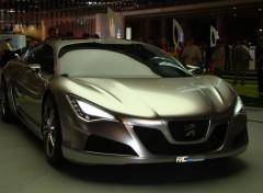 Fonds d'écran Voitures Nouvelle peugot mondial de l'auto 2008