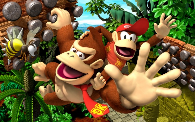 Wallpapers Video Games Wallpapers Donkey Kong Jungle