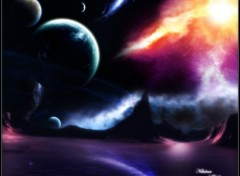 Wallpapers Digital Art nebuleuse