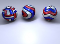Fonds d'écran Art - Numérique Displaced Balls